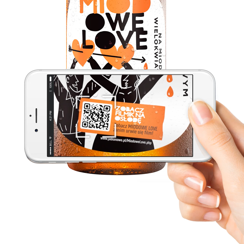 miodowe love - agencja reklamowa opakowania