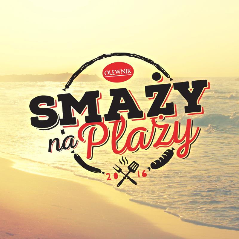 olewnik smaży na plaży - agencja reklamowa opakowania