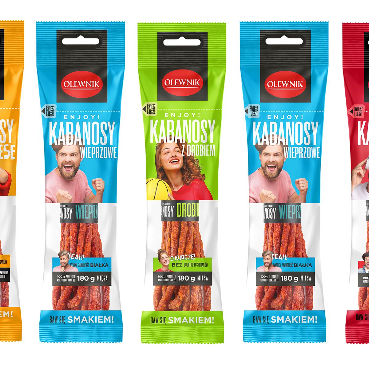 kabanosy olewnik - agencja reklamowa opakowania